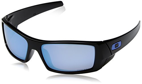 Oakley Gascan Prizm Deep Water Polarized Sunglasses (Oakley Two Face Clear Lenses)