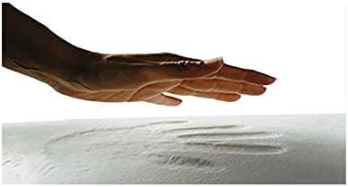 Todocama Termorregulable adaptabilidad al Cuello. Pack de 2 Unidades 70 Doble Funda con Cremallera Funda Jacquard con Tratamiento anti/ácaros Almohada viscoel/ástica Luxury Hotel
