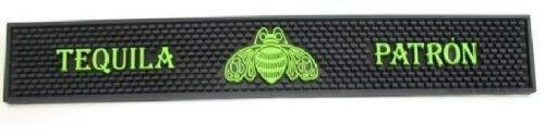 Patron Tequila Professional Series Signature Green Bar Rail Runner Drip Mat ()