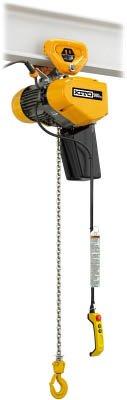 キトー EQ形電気チェーンブロックプレントロリ結合形 490kg(IS)×4m (1台) EQSP004IS B01E71ST78