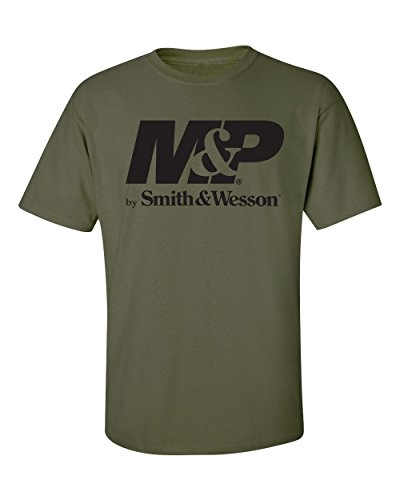 Big Clothing Smith - Smith & Wesson M&P Authentic Logo Tee - Officially Licensed