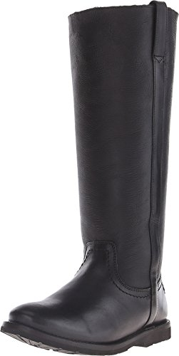 Leather & Shearling Tall Boot - 2