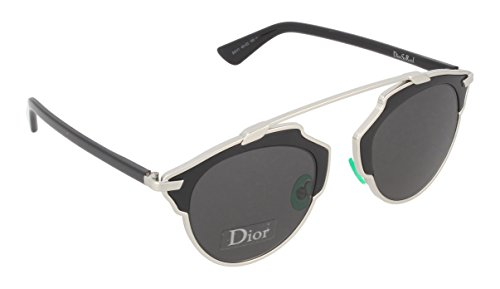 Dior Sunglasses Dior So Real Sunglasses B1AY1 Silver and Black - Black So Real Sunglasses Dior