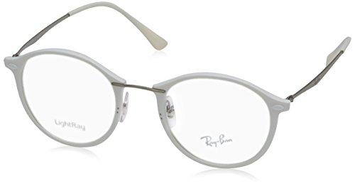 Eyeglasses Ray-Ban Optical RX 7073 5618 SHINY - Eyeglasses Ban White Ray