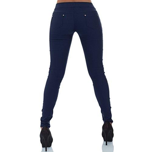 Pantalon Bleu Foncé Bleu Femme Malucas Pantalon Malucas Femme 5Zf8qd5