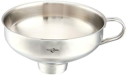 Kuchenprofi 18/10 Stainless Steel Jam Funnel (Kuchenprofi 18 10 Stainless Steel Funnel With Filter)