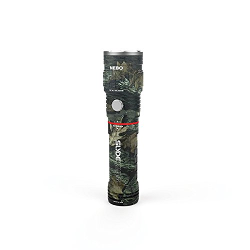 3 Pack Nebo Slyde King 330 Lumen USB rechargeable LED flashlight/Worklight CAMO 6643, rechargeable Li-ion battery with EdisonBright USB charger bundle by EdisonBright (Image #1)