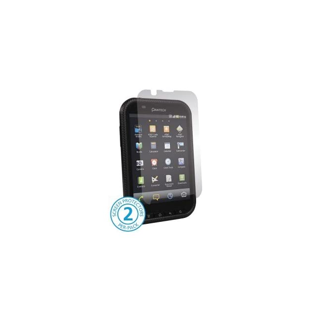 Pantech Pocket P9060 P 9060 Cell Phone HD Anti Glare Clear Transparent Screen Shield Guard Cover   INCLUDES 2 PROTECTORS