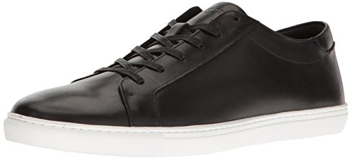 Kenneth Cole New York Men's Kam Fashion Sneaker, Black Leather, 13 M US