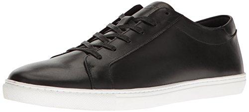 Kenneth Cole New York Men's Kam Fashion Sneaker, Black Leather, 13 M US