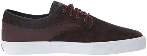 Lakai Mens Riley Lakai Shoe Suede Mens Chocolate Skateboarding Hawk 1wPSnq