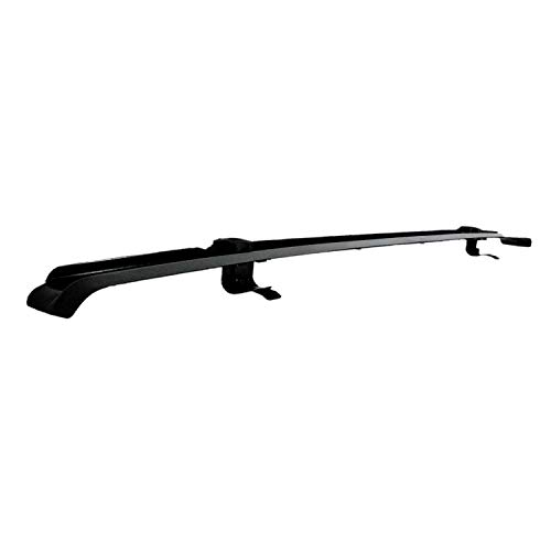 RAMPAGE PRODUCTS 901007 Black Windshield Channel for 2007-2018 Jeep Wrangler JK