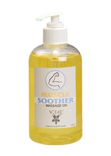 (Muscle Soother Massage Oil V'TAE Parfum and Body Care 8 oz Oil)