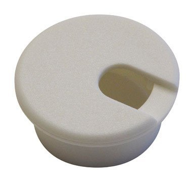 Jandorf Computer Grommet White Fits 1-1/2 In. Cut Out -  Jandorf Specialty Hardw, 61622