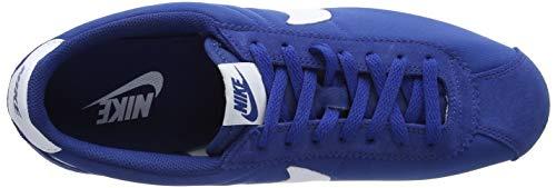Nike Blue Para Nylon Hombre Azul Zapatillas white 406 gym Cortez Classic RpwRq4O