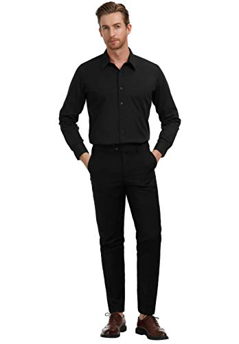 Buy black button up