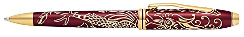 Cross Townsend Year of The Rooster Titian Red Lacquer Ballpoint Pen (AT0042-45)