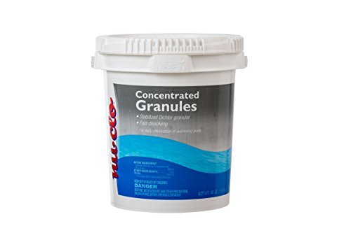 Concentrated Granules - Nu-Clo 10 LB Fast Dissolving Concentrated Dichlor Granules for Swimming Pools - 3203