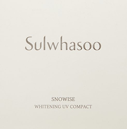 Sulwhasoo Snowise SPF 50 PA Whitening UV Compact Foundation, 9 Fluid Ounce