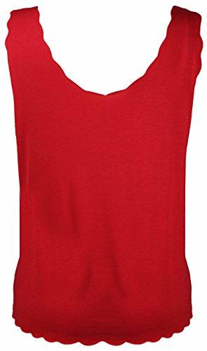 Purple Hanger - Camiseta sin mangas - para mujer Rojo
