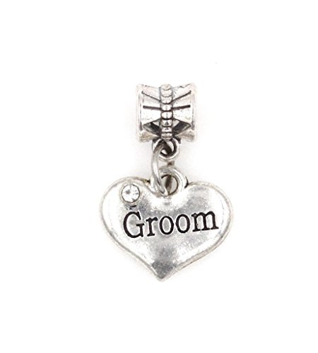 It's All About...You! Groom Dangling European Bead Charm 84P (Charme Und Charm Sonnenbrille)