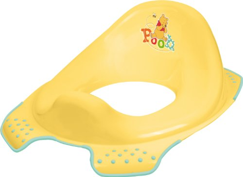 Disney Winnie the Pooh Toilet Training Seat (Yellow)