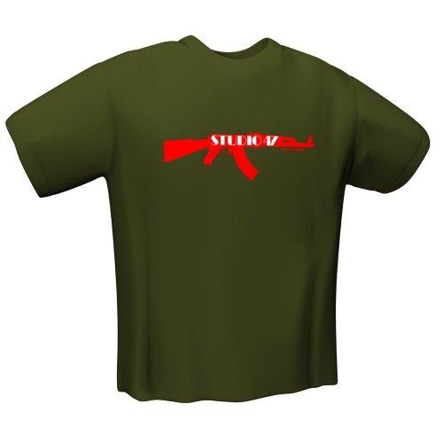 T-Shirt AK47 olive Gr. M