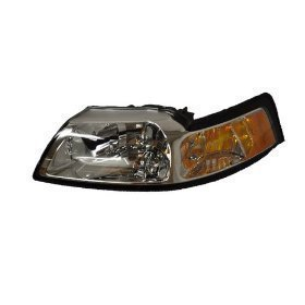 Ford Mustang All Model Headlight OE Style Replacement Headlamp Driver Side New