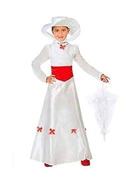 DISBACANAL Disfraz de Mary Poppins Infantil - Único, 5-6 ...