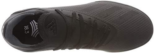 de Garçon 3 Core 18 X J Black Noir Dgh Futsal Core adidas Solid Chaussures Grey Black Tango TF tzRn0