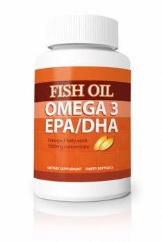 Omega-3 Fish Oil Pills - Maximum Strength EPA / DHA Omega-3 Fatty Acids 1000 mg Softgels (3) by Omega