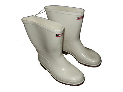 Commercial Grade Rain Boots (White) in the UAE. See prices