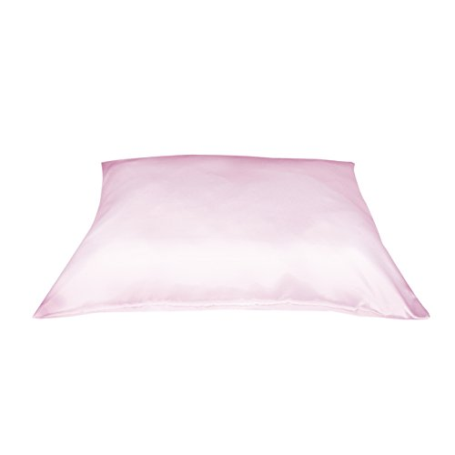 Pillowcase Dain Betty Satin (Betty Dain Satin Pillowcase with Zipper, Standard, Pink)