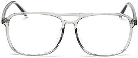 メガネヴィンテージトランジションサングラスフォトクロミック老眼鏡メンズ・レディース・多発性視度プログレッシブラウンド老眼鏡を青色光遮断 Collocation (Color : Clear, Size : +225)