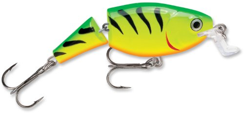 Rapala Jointed Shallow Shad Rap 7 Fishing Lure, Fire Tiger, 2-3/4-Inch