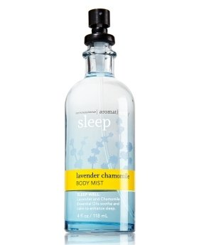 Bath and Body Works Aromatherapy Sleep Lavender Chamomile Mist Spray 4 Ounce Original Glass Bottle