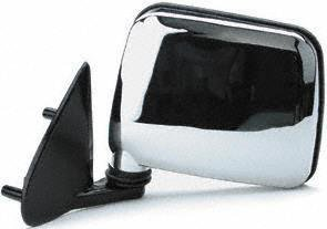 86-97 nissan pickup mirror lh (driver side) truck, manual, chrome (1986 86  1987 87 1988 88 1989 89 1990 90 1991 91 1992 92 1993 93 1994 94 1995 95 1996  96