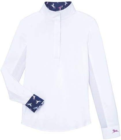 R.J. Classics Girls\' Rebecca JR Show Shirt, Large, Cats 3144JtL58nL