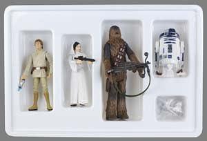 Star Wars, Exclusive Early Bird Action Figure Set (Luke Skywalker ...