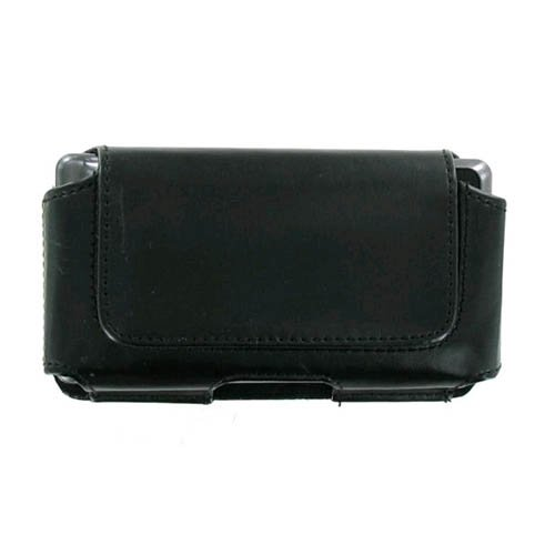 (Executive Large Black Horizontal Pouch Case For Droid Droid 2 BlackBerry 8300 8800 9000 9530 9600 8900 9700 Series)