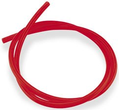 Helix Racing Products Colored Fuel Line - 3/8in. x 1/2in. 3ft. - Solid Red - Red Line Colored Fuel