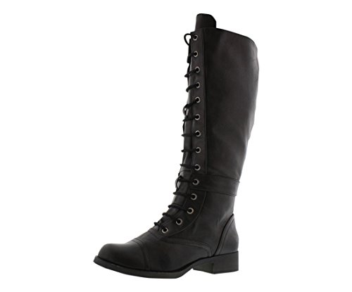 Rocket Dog Women's Calypso Stag Riding Boot - stylishcombatboots.com
