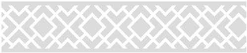 Sweet Jojo Designs Gray and White Diamond Children and Kids Modern Wall Border ()