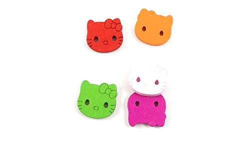 hello kitty buttons for sewing - 8