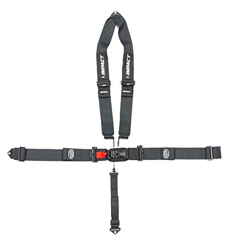 (Impact Racing Black Latch and Link 5 Point Harness P/N)