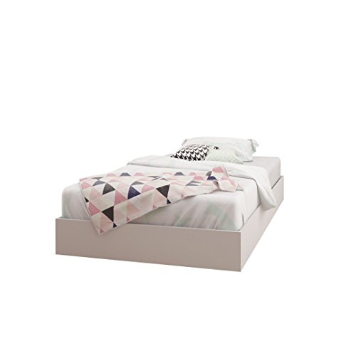 Nexera 343903 Twin Size Platform Bed, White