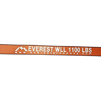 Everest Premium Ergonomic Ratchet Tie Down – 2 PK – 1.5 IN – 15 FT – 1100 LBS Working Load – 3300 LBS Break Strength – Cambuckle Alternative – Cargo Straps Perfect for Moving Appliances, Lawn Equipment and Motorcycles: Automo