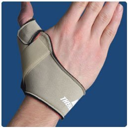 Thermoskin Flexible Thumb Splint, Left Size: S 4 3/4