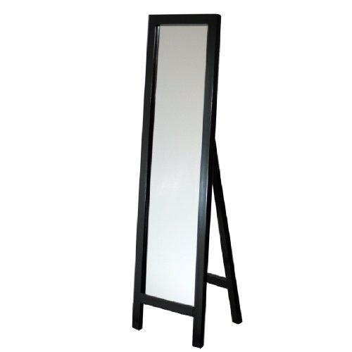 Head West Headwest Dark Coffee Floor Easel Mirror, 18 Inches
