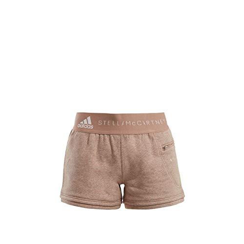 正確さ肺解く(アディダス) Adidas By Stella McCartney レディース ボトムス?パンツ ショートパンツ Essentials cotton-blend shorts [並行輸入品]